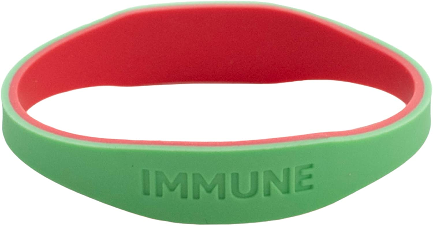 Small Reversible Silicone COVID Bracelet Qty 1