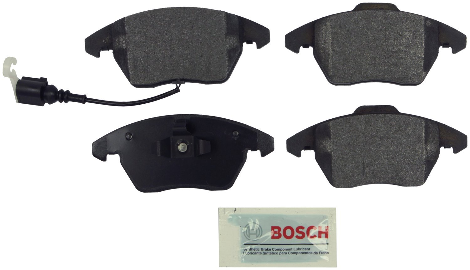 Bosch BP1107 QuietCast Premium Semi-Metallic Front Disc Brake Pad Set