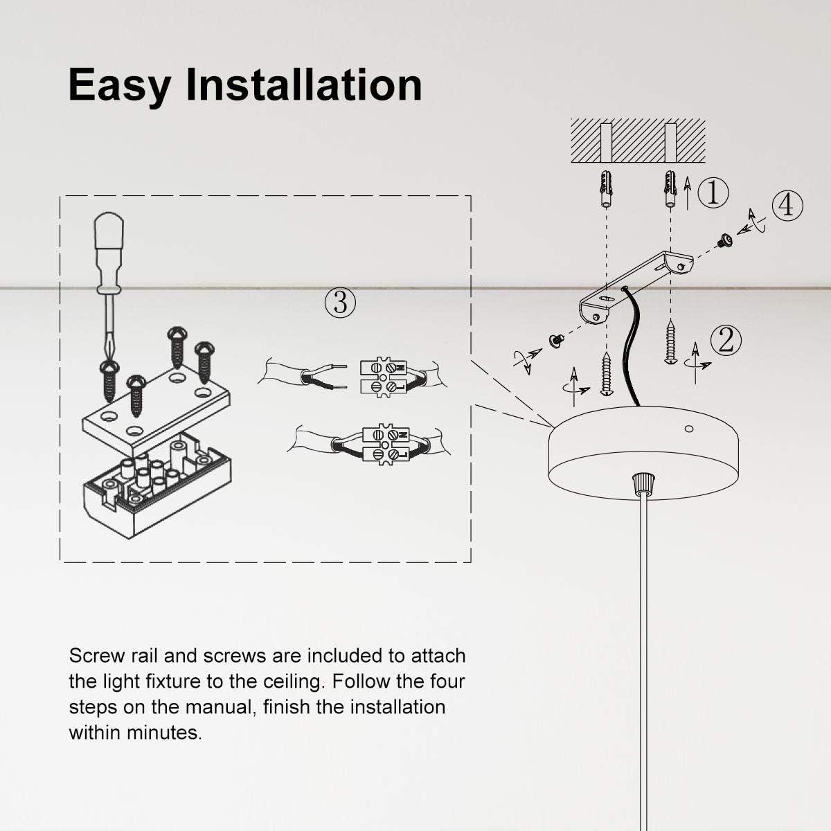 E27 Lampenfassen mit Kabel 100CM Schnurpendel Linkind Metall Lampenaufh/ängung ideal f/ür Deckenbeleuchtung Wei/ß Pendelleuchte Stoffkabel Schwarz