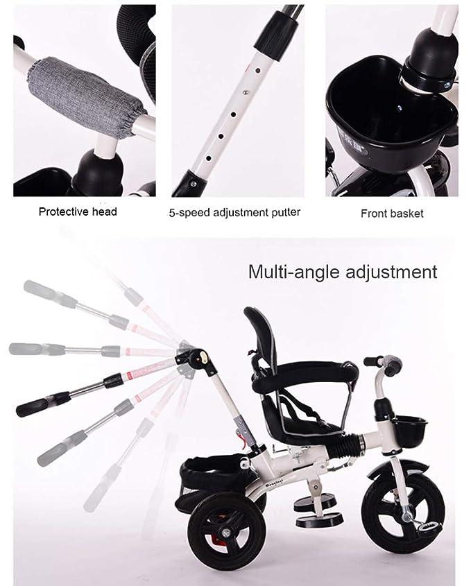 Amazon.com: SHOWGG - Patinete infantil con tres ruedas ...