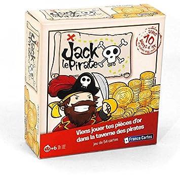 Drôles De Jeux - 410445 - Jack Le Pirate - Jeu De Cartes: Amazon.fr ...
