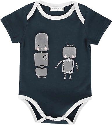 Fox Newborn Cotton Jumpsuit Romper Bodysuit Onesies Infant Boy Girl Clothes