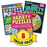 Penny Dell Variety Puzzle 8-Pack