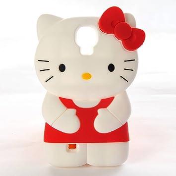 Hello Kitty Samsung Galaxy S4 S IV i9500 Etui Housse en Relief ...