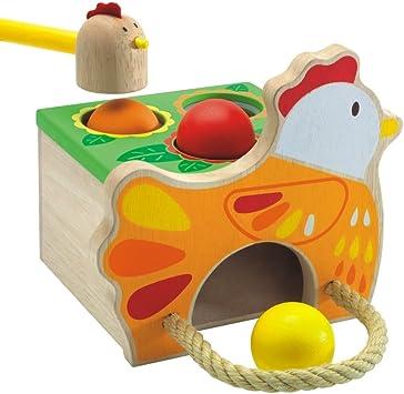 Djeco - Tap Tap Gallina: Amazon.es: Juguetes y juegos