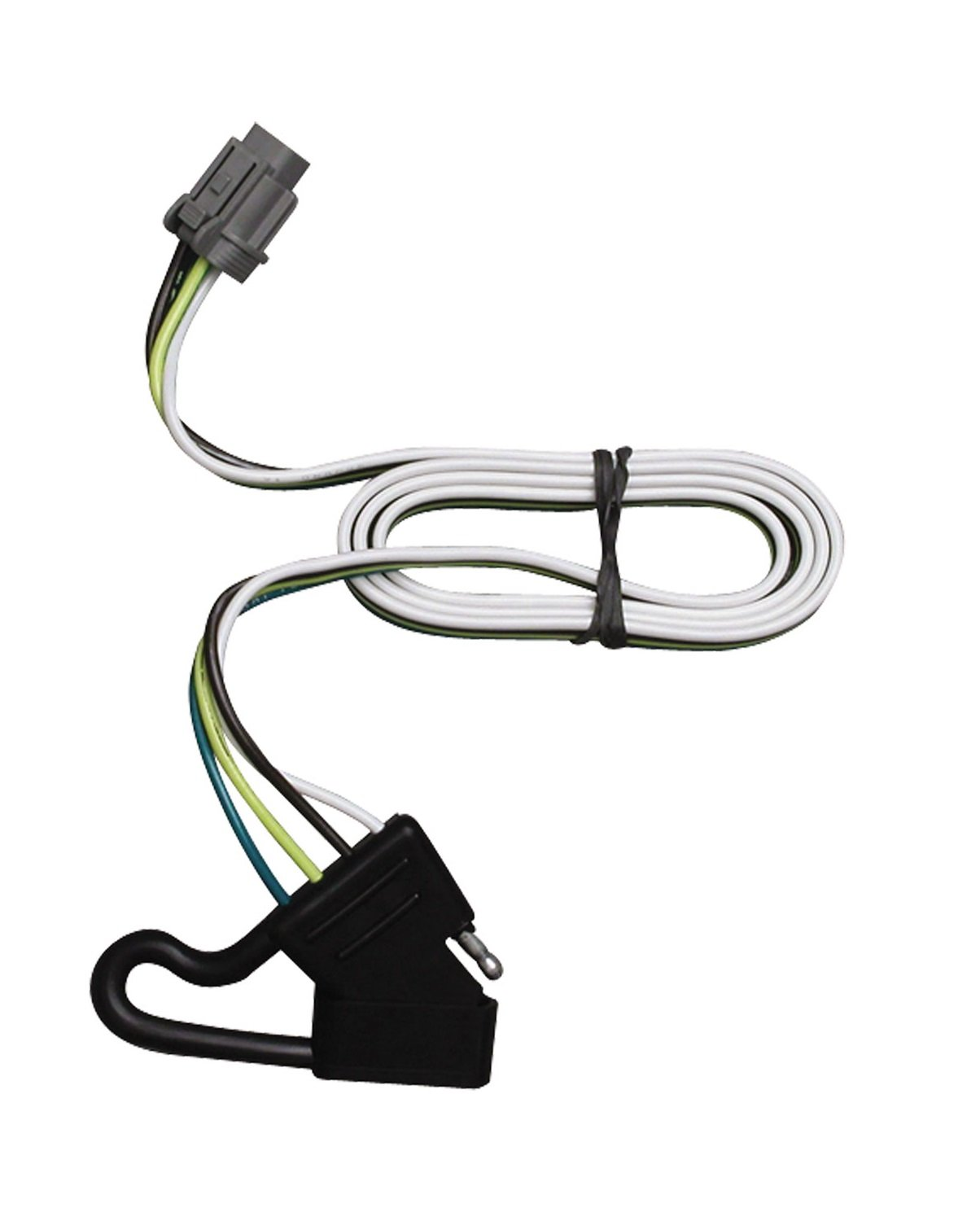 Amazon.com: Tekonsha 118244 4-Flat Tow Harness Wiring Package ...