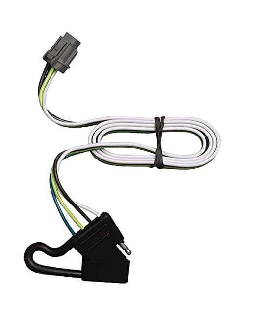 610r6ITytkL._SX522_ amazon com tekonsha 118244 4 flat tow harness wiring package 2002 xterra trailer wiring harness at cos-gaming.co