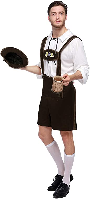 Amazon.com: Quesera Oktoberfest - Conjunto de disfraz de ...