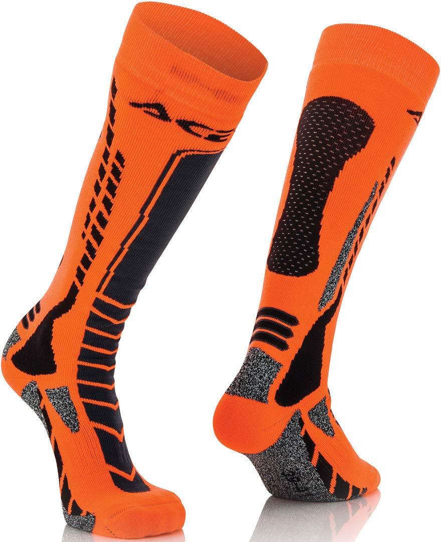 L//Xl Acerbis 248706357 116 Strumpf Mx Pro L XL Schwarz//Orange