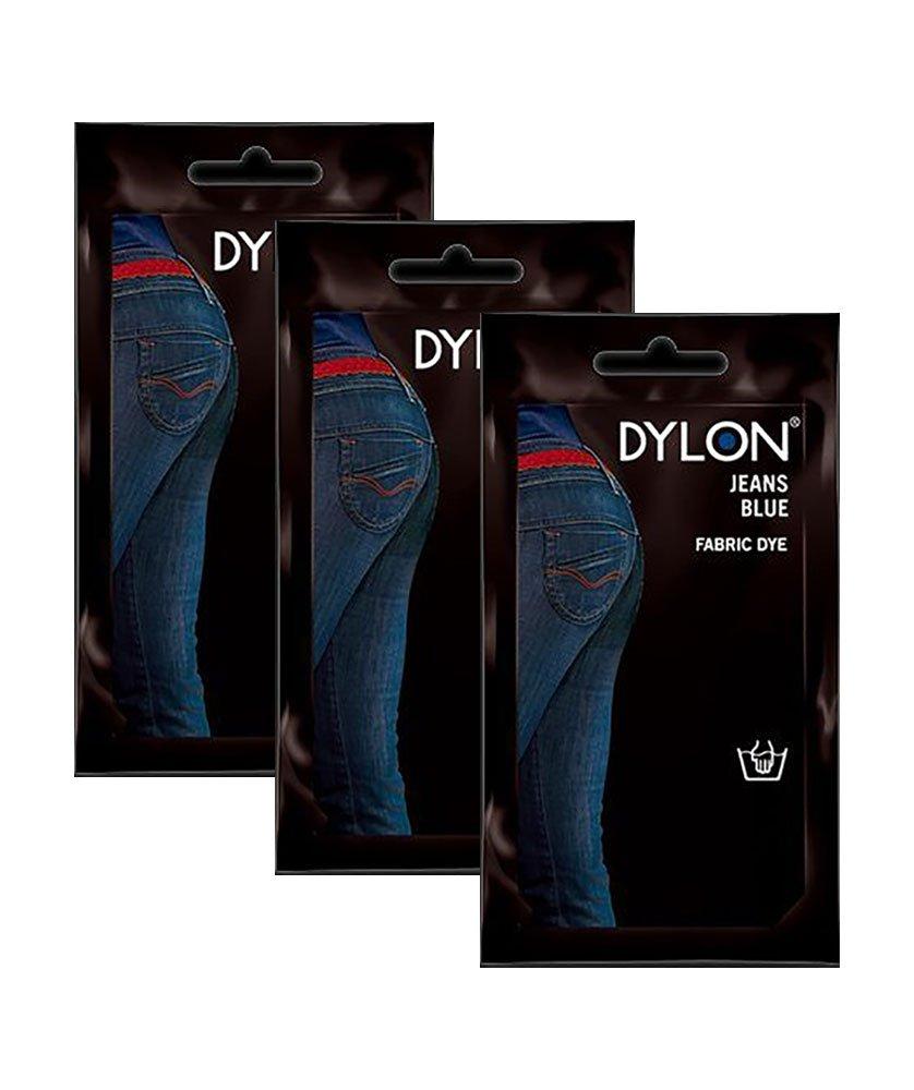 Dylon Jean Blue Fabric Dye- 3-Pack