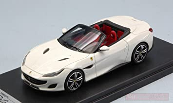 Looksmart Ls480sc Ferrari Portofino Open Roof Italia White 1 43 Die Cast Model Kompatibel Mit Amazon De Spielzeug