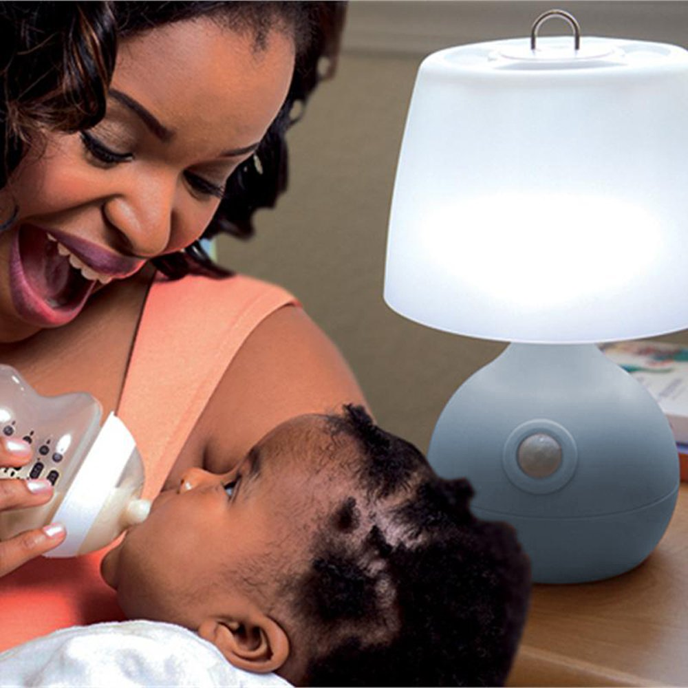 Blue Senses Motion up to 15 Feet Away Battery Life of 90 Hours Mighty Bright The Original Motion-Sensor Light for Baby Nursery and Nighttime Safety 35021
