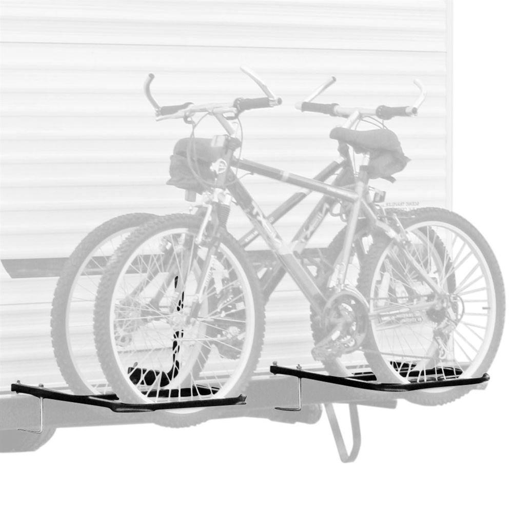 Apex Rage Powersports BC2BM RV/Camper Trailer Bumper Bike Rack for 1-2 Bicycles