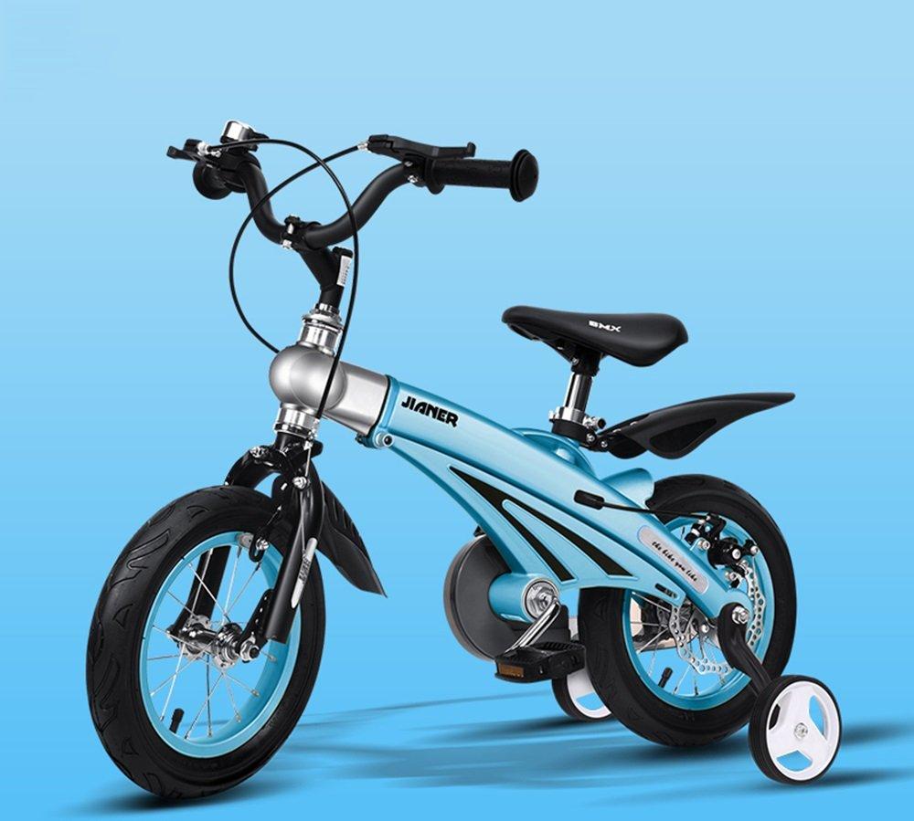 美しい 家子供用自転車、男女用自転車、乳母車、マウンテンバイク、子供用自転車 (色 : 青, サイズ さいず : 113*38*88cm) B07CXJJBPJ 113*38*88cm|青 青 113*38*88cm