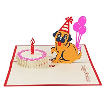 Happy birthday 3d cardpop upfolding card birthday card happy birthday 3d cardpop upfolding card birthday card greetings m4hsunfo