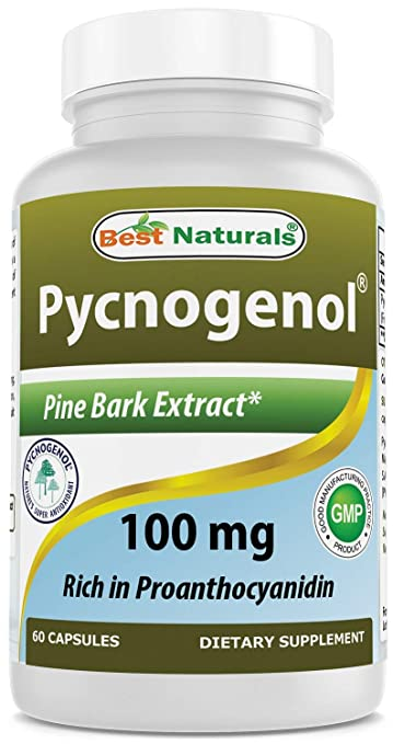 Amazon Com Best Naturals Pycnogenol 100 Mg 60 Capsules Health
