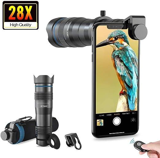 Apexel HD Cell Phone Lens-28X: Amazon.es: Electrónica