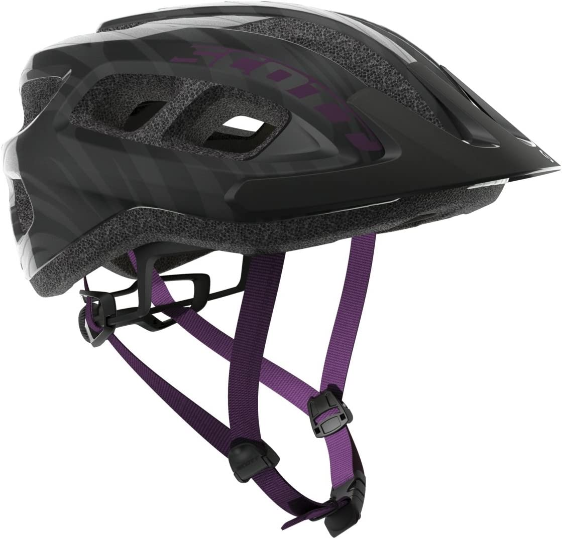Scott Supra Bike Helmet – Black Violet
