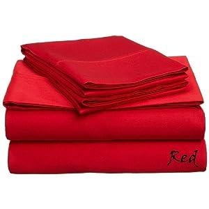 James Plush 100% Egyptian Cotton 600- Thread -Count Sheet Set Luxurious Deep Pocket { 18