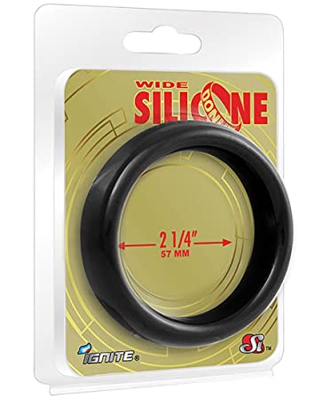 Amazon.com: Ignite Wide 2.25 in. Silicone Donut - Black ...
