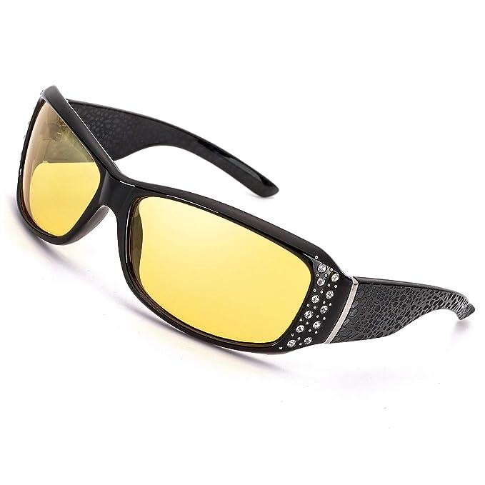 Amazon.com: IGnaef Gafas de conducción de visión nocturna ...