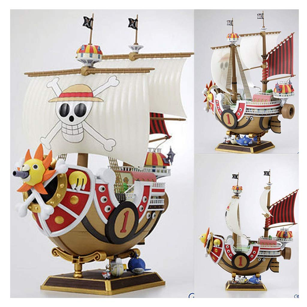 WJP Toy Model Crafts Pirate Ship Anime Toy Boat Component Model ( Color : A )