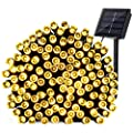 Qedertek 72ft 200 LED Outdoor Fairy Decorative Lights