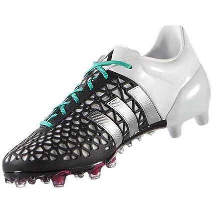 : adidas ace fg / ag nero / bianco / argento, scarpe...