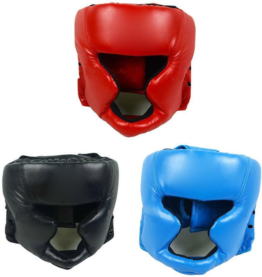 AchidistviQ Casco Protector de Cabeza para Entrenamiento de Boxeo y Artes Marciales, de la Marca