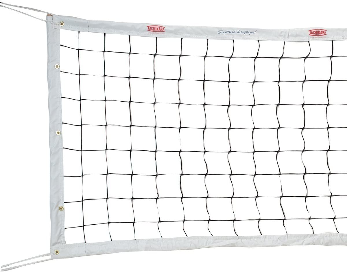 Amazon Com Tachikara Professional Volleyball Net Pro Volleyball Net Sports Outdoors