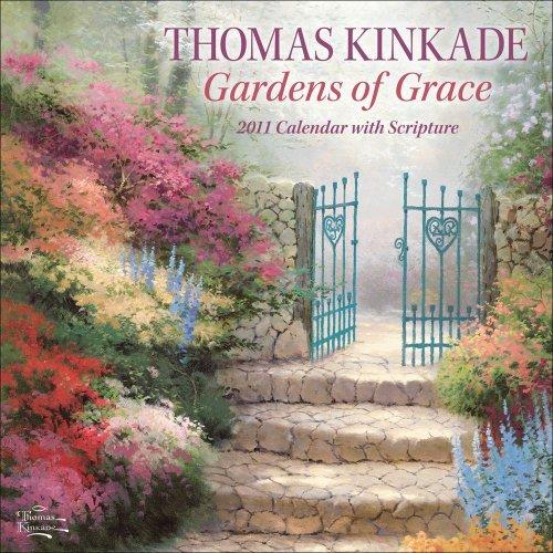 (Thomas Kinkade Gardens of Grace with Scripture: 2011 Wall Calendar by Thomas Kinkade (2010-07-01))