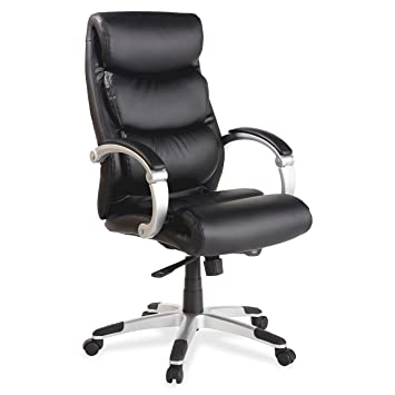 LLR60620   Lorell Executive Bonded Leather High Back Chair