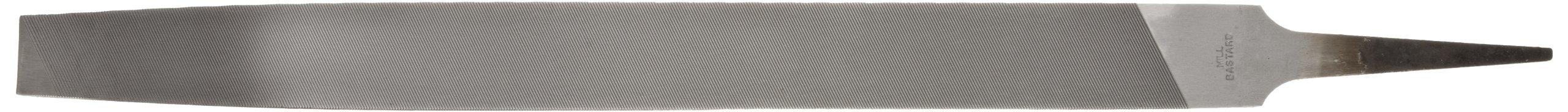 Nicholson Mill Hand File, American Pattern, Single Cut, Rectangular, Fine, 14'' Length