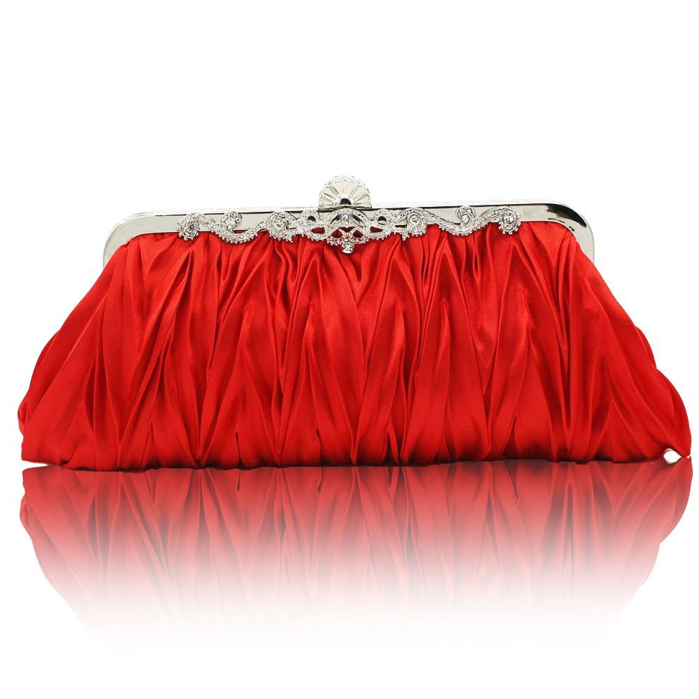 Kingluck Silk Cocktail Evening Handbags/Clutches in Gorgeous Silk More Colors Availabl 10449727
