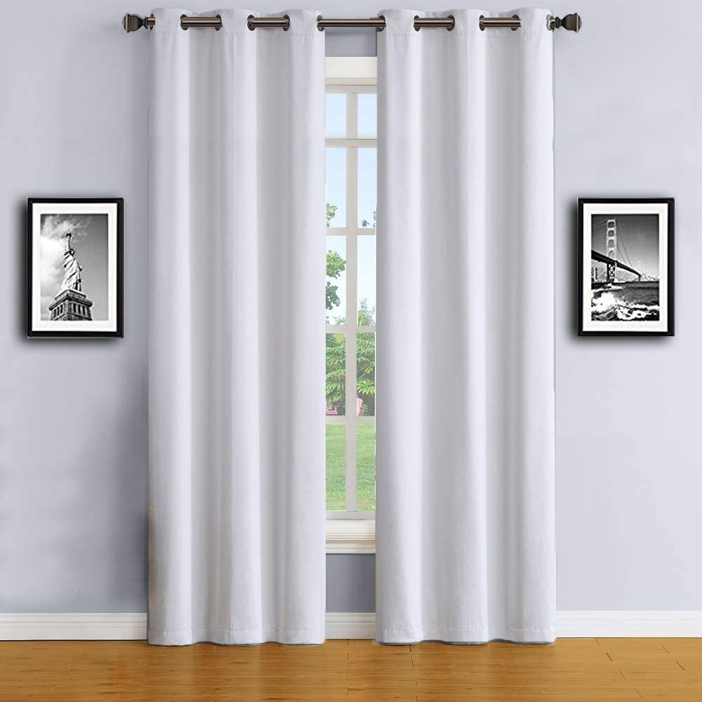 WARM HOME DESIGNS 1 Pair (2 Panels) Of Extra Long Length 37