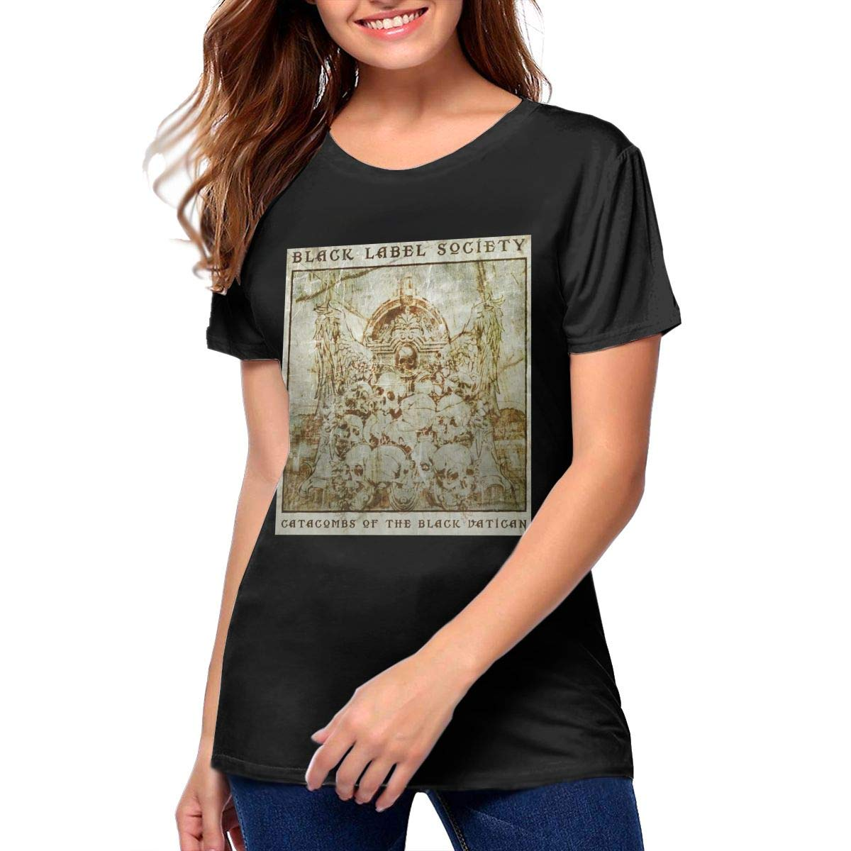 Label Society Catacombs Of The Vatican Woman S Novelty Short Sleeved T Shirt 1258