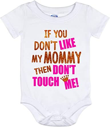 Mommy And Me One Broke Daddy Fathers Day Gift Newborn Romper Bodysuit For Babies