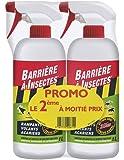 BARRIERE A INSECTES BARSEC1000NP Lot de 2 Répulsifs Insectes Rampants, Volants, Acariens Rouge 17 x 8.5 x 26 cm 1 L