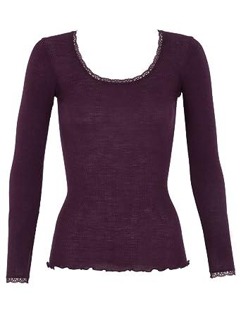 507e8b8ebb3 Tee shirt laine et soie femme sous vetement ski laine