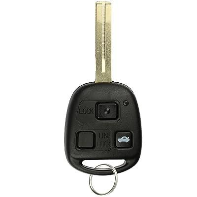 KeylessOption Keyless Entry Remote Control Car Key Fob Replacement for HYQ1512V: Automotive [5Bkhe0814259]