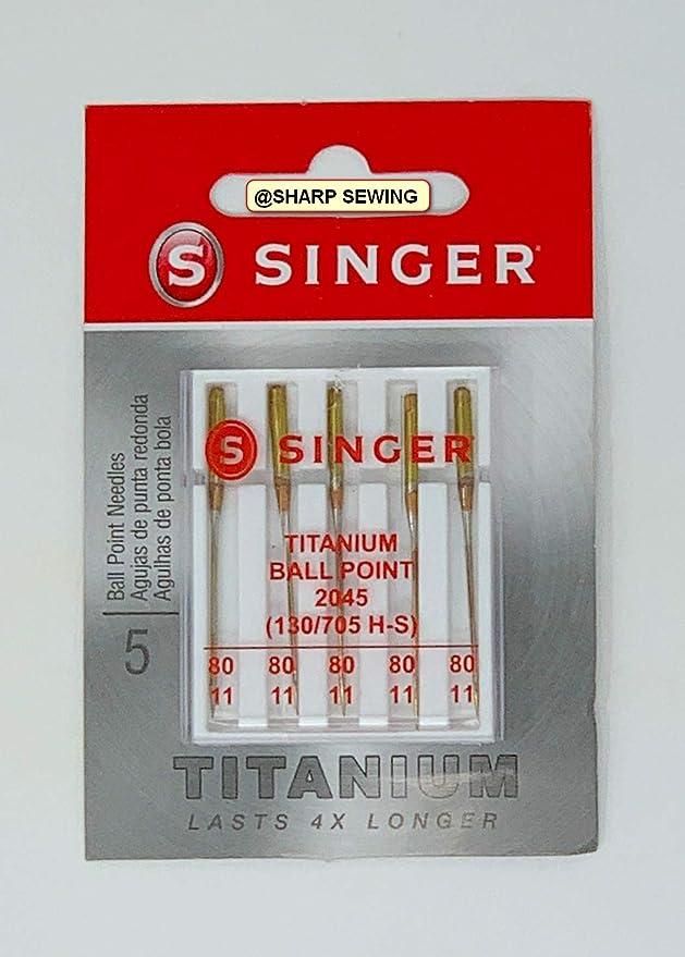 Singer 2045 (130/705H-S) - Agujas universales para máquina de ...