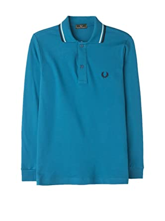 Fred Perry Polo Azul Medio 6 años (116 cm): Amazon.es: Ropa y ...