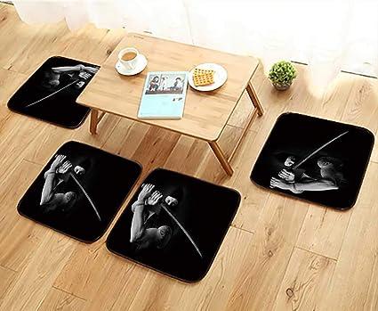 Amazon.com: Jiahonghome Home Chair Set Portrait of Muscle ...