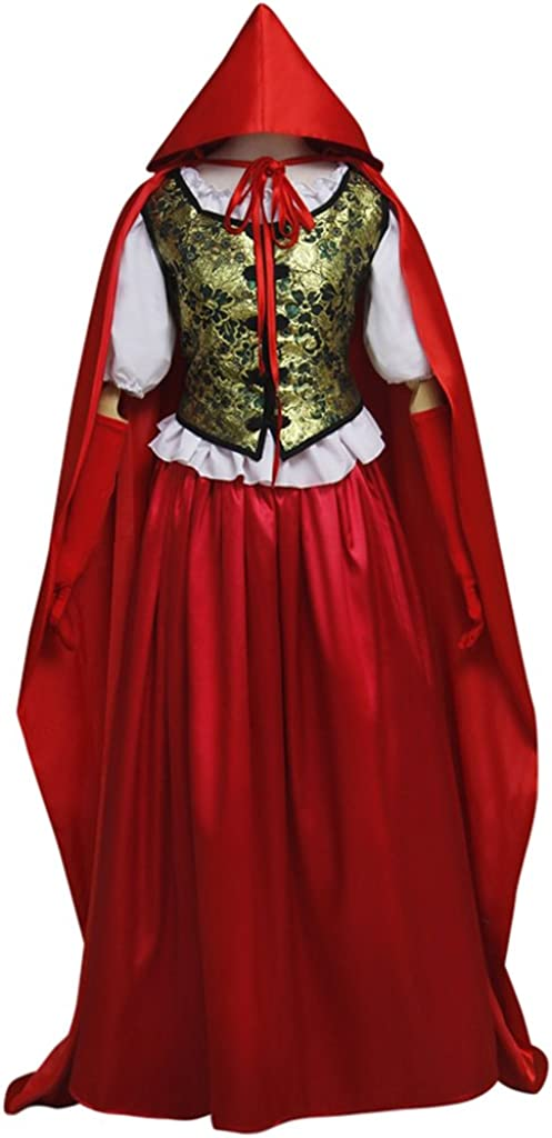 Once Upon a Time Little Red Riding Hood Cloak Dress