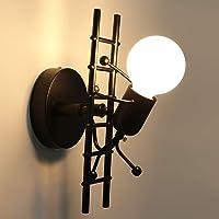 HAWEE Humanoide Creativo Lámpara de Pared Interior Luz
