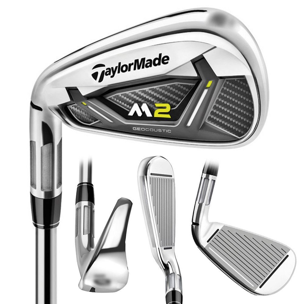 LEFTY NEW TaylorMade 2017 M2 Pitching Wedge/Graphite REAX 55 Senior Flex by TaylorMade