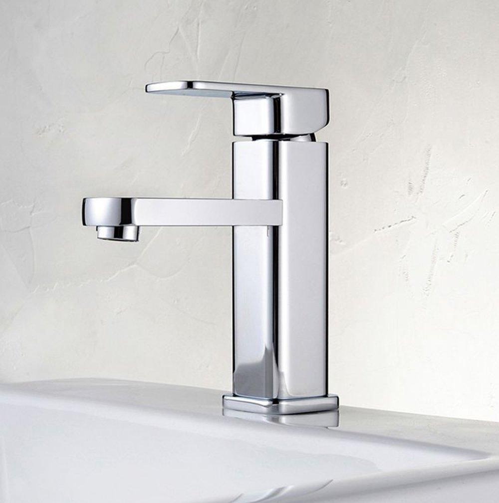 Aawang Modern Messing Deck Mount Badezimmer Waschbecken Wasserhahn Vanity Vessel Sinks Mixer Wasserhahn Chrom Tippen