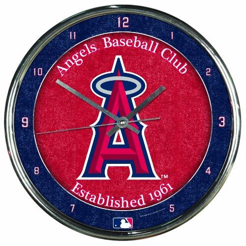 - MLB Los Angeles Angels Chrome Clock, 12
