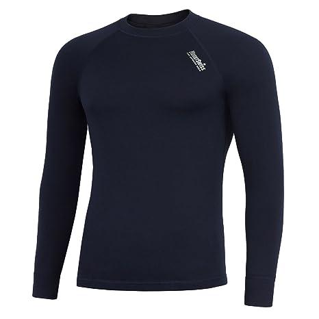 Mount Swiss Davos - Ropa interior térmica para hombre, camiseta de manga larga