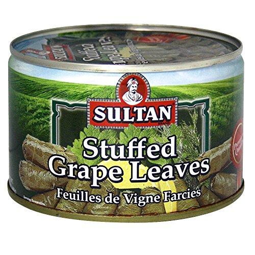 Sultan Stuffed Grape Leaves 14 Oz (Grape Sultan Leaves)